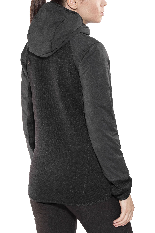 1f3695cb1270 Black Diamond First Light Hybrid Hoodie Jacket Damen smoke